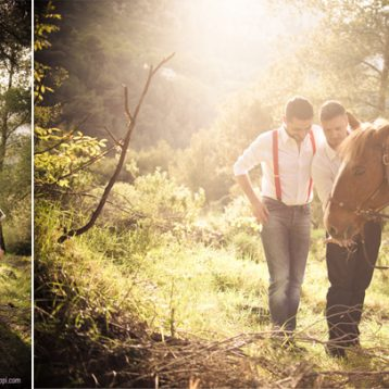 {Shooting inspiration mariage gay Nice} David & Gianluca, photos de couple.